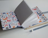 A6 Bright Blue Travel Journal