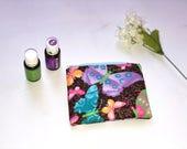 Essential oil bag mini  essential oil case Essential oil gift Essential oil storage essential oil travel bag zipper pouch