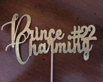 """Cake topper """"Prince Charming"""""""
