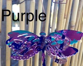 3D La Croix Dragonfly Ornament- Embellishment-Floral Arrangement Decoration-Wedding Decor-Scrapbook-Ornament Exchange-Upcyled Soda Can