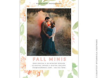 Fall Marketing Ad - Instant download - e1532
