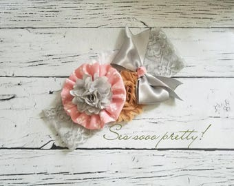 Flower headband, Baby girl headband