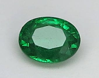 0.79 Ct Natural Green Garnet Tsavorite Unheated