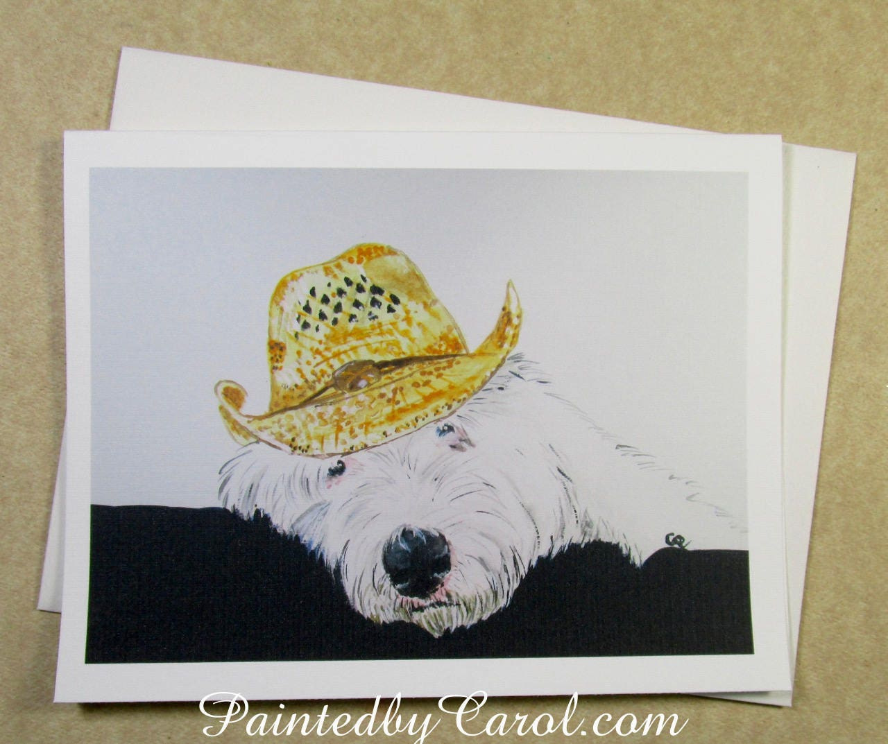 Old English Sheepdog Birthday Card OES Birthday Card Dulux