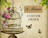 Custom Order for - Steph