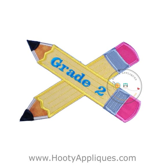 Large 2nd Grade Pencils- Back To School