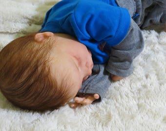 "Reborn Baby, ""Anthony"",  Reborn Baby Boy, Charles Asleep Kit, Reborn Doll, Ready to Ship"