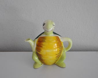 ON SALE Vintage Mid Century Turtle Planter