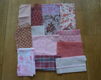 set of fabrics for patchwork 119 coupons