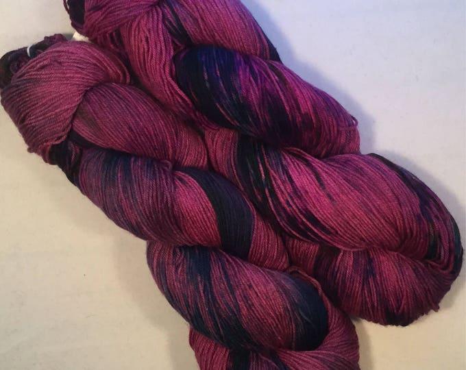 I C Spots - Mulled Wine - Fingering / Sock Yarn