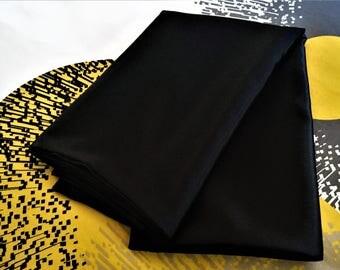 Reserved for Maysum - Black Crepe back Satin Pillow Case