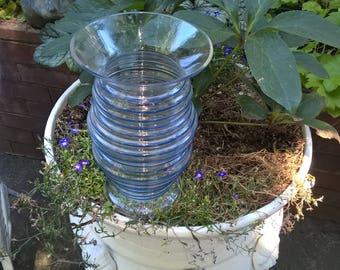 Czechoslovakie Art Glass Vase