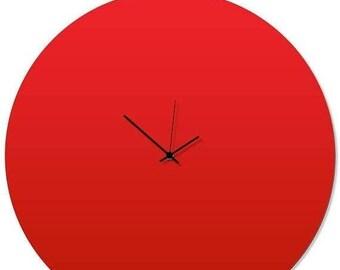 Sale Contemporary Clock U0027Redout Circle Clocku0027 By Adam