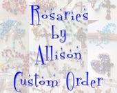 Custom order for Isabel G