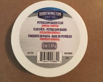 Worthington Petroleum Based Flux 2 oz.