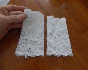 lace gloves, french lace, bridal gloves