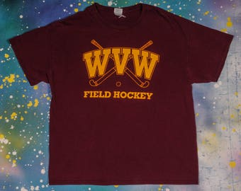 WVW Field Hockey Sports T-Shirt Size M
