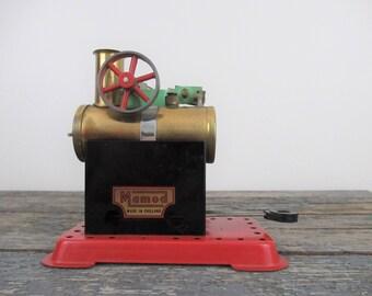 Mamod Minor 1, Mamod Stationary Engine, Miniature Steam Engine, Vintage Toy, Tin Toy, Mamod Steam Engine, Model Engine, Mamod Toy
