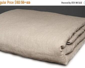 15%SALE Washed gray linen duvet cover, linen bedding, natural eco friendly bedding