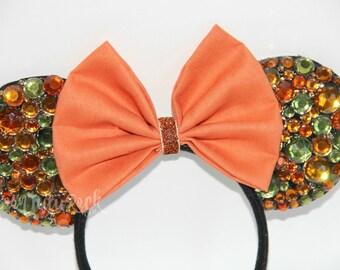 Fall Mouse Ears // Autumn Mouse Ears // READY to SHIP // by Born Tutu Rock