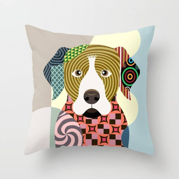 Rottweiler Pillow, Rottweiler Gift, Rottweiler  Art Print,  Rottweiler Accessories, Dog Lover Pillow,  Rottweiler Throw Pillow