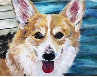 Acyrlic Pet Painting
