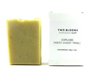 Pine soap, West Coast Trail essential oil soap, Victoria BC, Vancouver Island