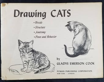 Drawing Cats Instruction and Illustrations 1948
