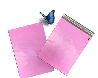 On Sale 20Pack 12x15.5 Orchid Pink FLAT POLY Mailers, Poly Mailing Shipping Bags, Poly Mailer Shipping Envelope Plastic Shipping Bags