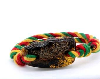 Baltic amber bracelet/ adjustable size bracelet for teens/ sliding bracelet