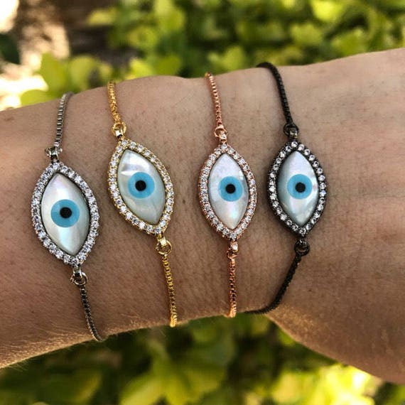 evil eye bracelets boho jewelry protection jewelry