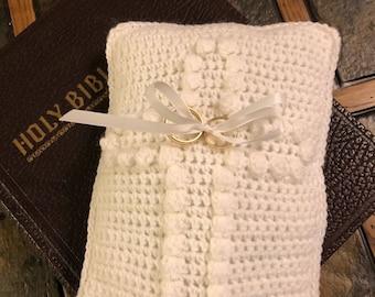 Handmade Ring Bearer's Pillow