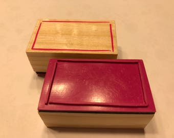 Frame Tag rubber stamp, 1 3/4 inch (BB4/9)