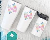 12 oz PaperBird:Crafts Straw cup