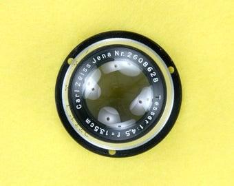 Carl Zeiss Jena Tessar f/4.5 135mm Lens