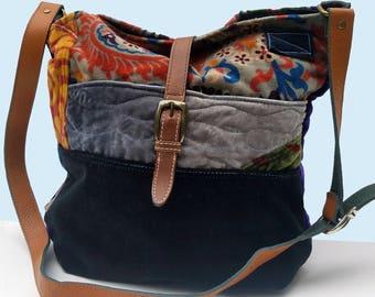 Handbag, Shoulder Bag, Velvet Handbag, Bag,  Boho Handbag, Borse, Bucket Bag, Bohemian Bag,