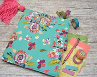 Planner Cover - in Art Gallery Boho Fusion fabric - F2