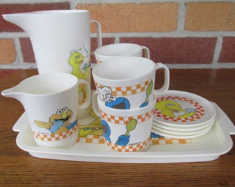 Vintage Muppets Toy Dishes