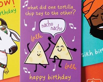 Nacho Nacho Birthday Card!