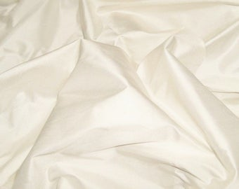 SCALAMANDRE SHANGRI-LA Silk Fabric 10 Yards Ivorie / Ivory