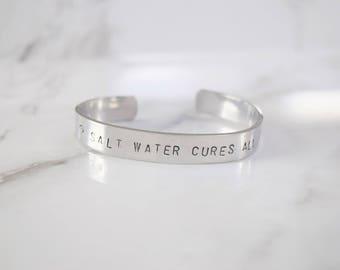 Salt Water Cures All Bracelet