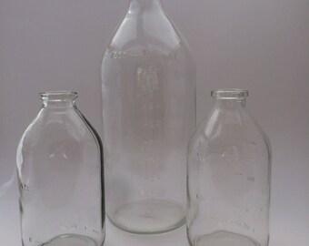 E.g. vases 1000ml 250ml bottles