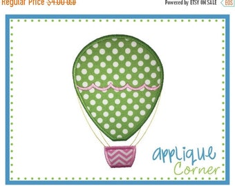 40% OFF INSTANT DOWNLOAD Hot Air Balloon Applique Design design for embroidery machine by Applique Corner