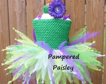 Halloween sale Tinkerbell costume, Tinker bell costume, Fairy Tutu Dress, purple fairy Tutu, Tinker Bell Tutu Dress, Tinkerbell Tutu Dress,
