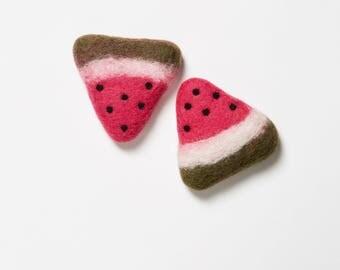 Watermelon Wool Toy
