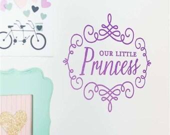 Baby Little Girl Teen Tween Adult Woman Princess Vinyl Sticker Decal