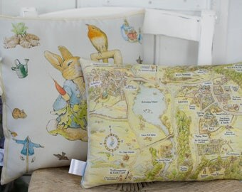 Peter Rabbit Nursery Pillows Gift set of 2 Beatrix Potter Pillows