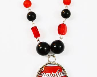 Campbell necklace /collier court ajustable Campbell