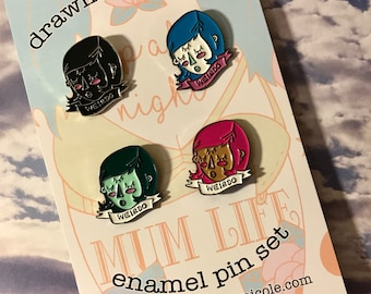 SALE - Pin pack set 7