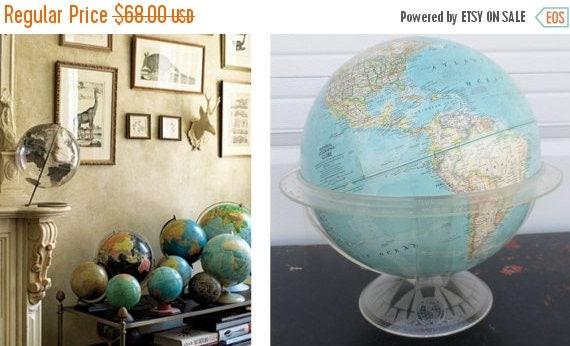 ON SALE National Geographic World Globe - National geographic world maps for sale